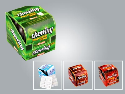 Blister Dragee Chewing Gum  12 packs